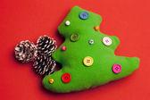 árbol de navidad juguete — Foto de Stock