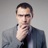 Angry Businessman — Stock Photo
