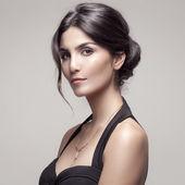 Fashion Portrait Of Beautiful Woman With Jewelry. — Stockfoto