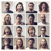 Křičí — Stock fotografie