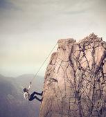 Klettern — Stockfoto