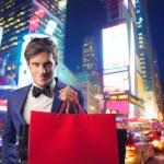 Shopping in New York — Stock Photo