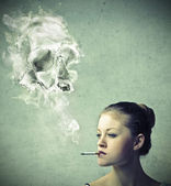 Smoking — Stock Photo
