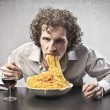 Tucking In - Stock Photo