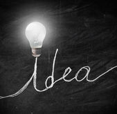 Idea brillante — Foto Stock