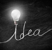 Lysande idé — Stockfoto