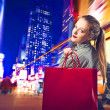 Shopping in New York — Stock Photo