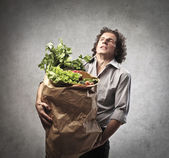 Too Many Vegetables — Stock Photo
