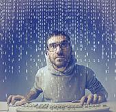 кодирование — Стоковое фото