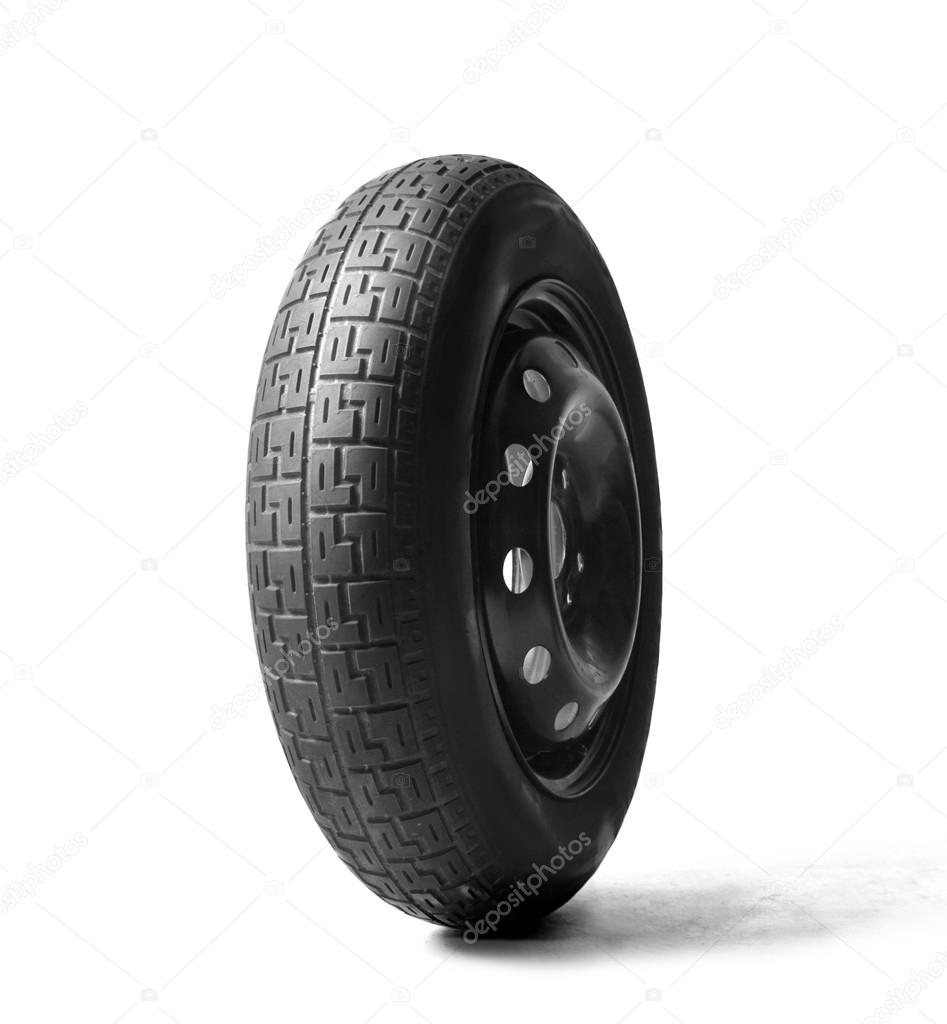 One tire — Stock Photo #13870062