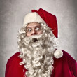 Astonished Santa Claus — Stock Photo