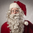 Worried Santa Claus — Stock Photo