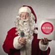 Stock Photo: Publicizing Santa Claus