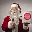 Publicizing Santa Claus — Stock Photo