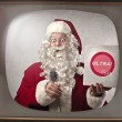 Stock Photo: Advertising Santa Claus