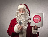 Publicizing Santa Claus — Stock Photo