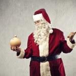 Santa Claus Money — Stock Photo
