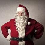 Serious Santa Claus — Stock Photo