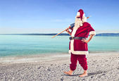 Santa claus dovolená — Stock fotografie