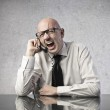 Office Worker Laugh — Stock Photo