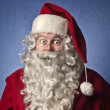 Surprised Santa Claus — Stock Photo