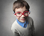 Child with Glass — Stock Photo