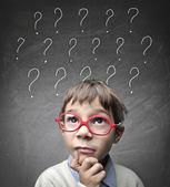 Wątpliwości dziecka — Zdjęcie stockowe