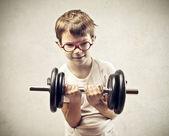 Kind kraft — Stockfoto