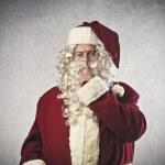 Shut up santa claus — Stock Photo