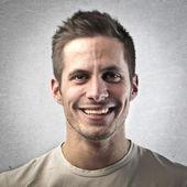 Porträtt av stilig man — Stockfoto