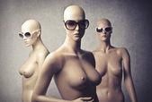 Fashion mannequins — Stock Photo