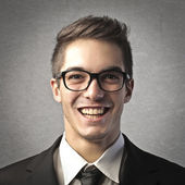 Portrait of smiling man — Stock Photo