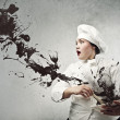 Creative chef — Stock Photo
