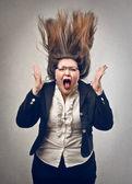 Gniew — Zdjęcie stockowe