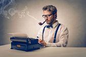 Författare — Stockfoto
