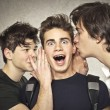 Three boys - Foto Stock