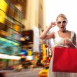 Shopping girl — Foto de Stock