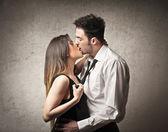 поцелуй — Стоковое фото
