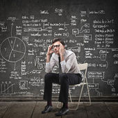 Man thinking — Stock Photo