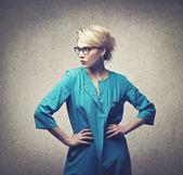 Fashion woman — Zdjęcie stockowe