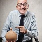 Businessman smiling — Stock Photo #30043525