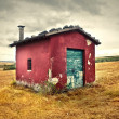Little house — Stock fotografie