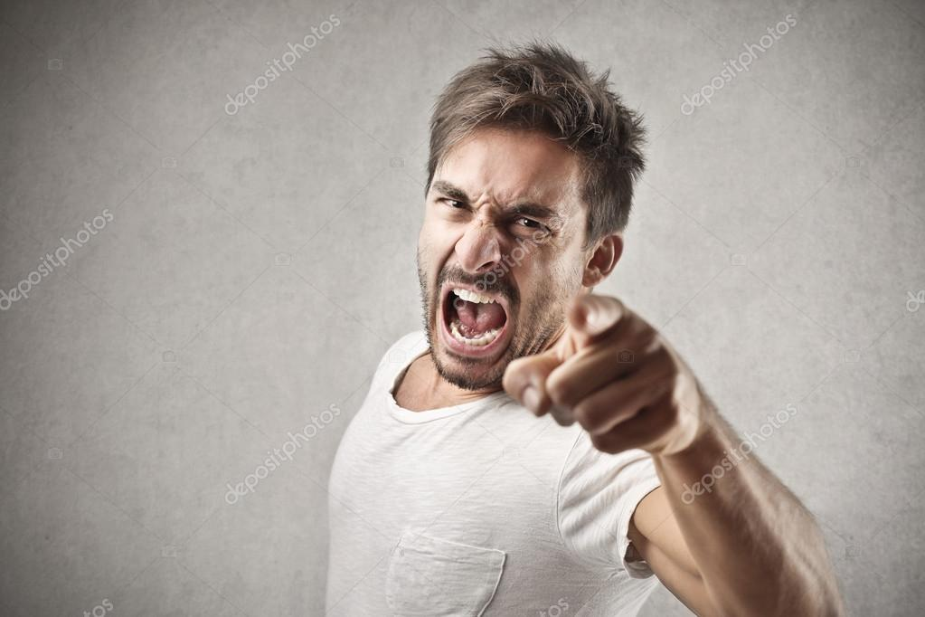 Image result for image of man shouting angrily