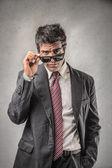 Bell'uomo d'affari — Foto Stock