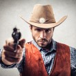 Western robber — Stock Photo