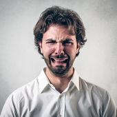 Sad man — Stock Photo