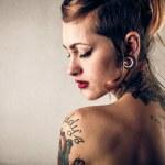 Beautiful alternative woman — Stock Photo #40635443