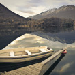 Empy boat in a lake — Stock Photo #43902049