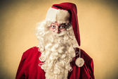 Santa Klaus smiling — Stock Photo