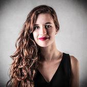 若い美しい女性 — ストック写真